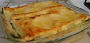 Lasagne Gorgonzola