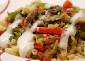 macaroni met gyros