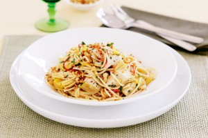 spaghetti met artisjokharten