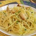 spaghetti citroen kip
