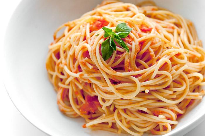 pasta met verse tomaten