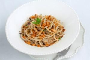 spaghetti alls mollica