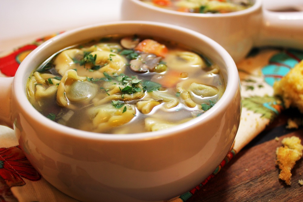 soep maken met kippenbouillon